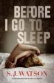 Couverture Avant d'aller dormir Editions HarperCollins 2013