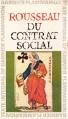 Couverture Du contrat social Editions Garnier Flammarion 1966