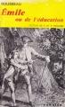 Couverture Emile ou de l'éducation Editions Garnier (Classiques) 1982