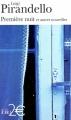 Couverture Première nuit et autres nouvelles Editions Folio  (2 €) 2002