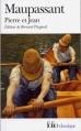 Couverture Pierre et  Jean Editions Folio  (Classique) 1982