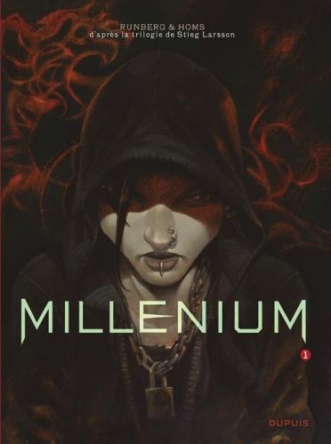 Couverture Millenium (BD), tome 1 : Les hommes qui n'aimaient pas les femmes, partie 1