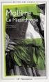 Couverture Le misanthrope / Le misanthrope ou l'atrabilaire amoureux Editions Flammarion (GF) 1997