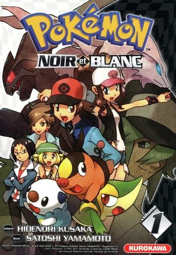 Couverture Pokémon : Noir et blanc, tome 1