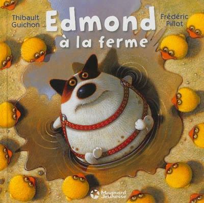 Couverture Edmond à la ferme