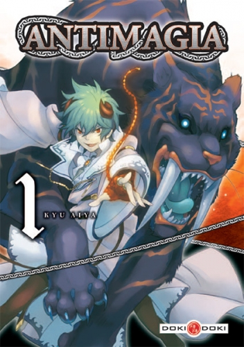 Couverture Antimagia, tome 1