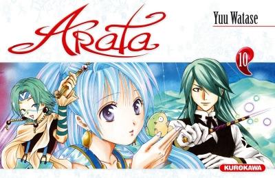 Couverture Arata, tome 10