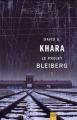 Couverture Le Projet Bleiberg Editions Libre Expression (Expression noire) 2013