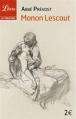 Couverture Histoire du chevalier Des Grieux et de Manon Lescaut / Manon Lescaut Editions Librio (Littérature) 2012