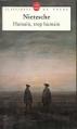 Couverture Humain, trop humain Editions Le Livre de Poche (Classiques) 1995