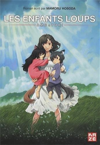 Couverture Les enfants loups : Ame et Yuki (Roman)