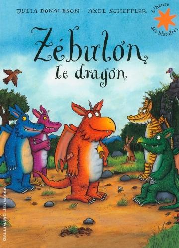 Couverture Zébulon le dragon