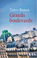 Couverture Grands Boulevards Editions JC Lattès 2013