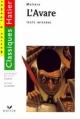 Couverture L'Avare Editions Hatier (Classiques - Oeuvres & thèmes) 1996