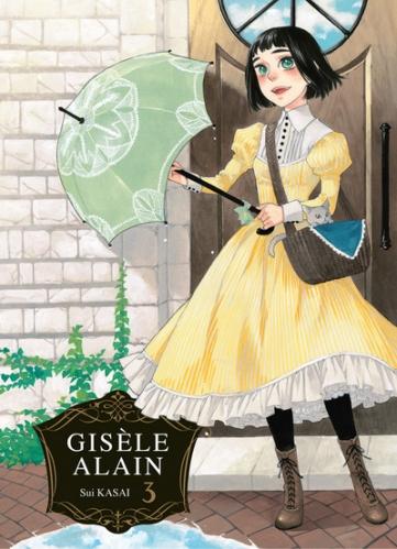 Couverture Gisèle Alain, tome 3