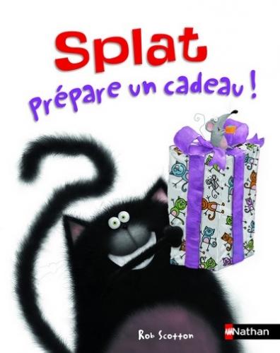 Couverture Splat prépare un cadeau !