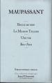 Couverture Boule de Suif, La Maison Tellier, Une vie, Bel-ami Editions Le Soir (Bibliothèque idéale) 2009