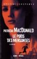 Couverture Le poids des mensonges Editions Albin Michel 2012