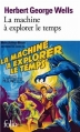 Couverture La machine à explorer le temps, L'île du Docteur Moreau Editions Folio  2001