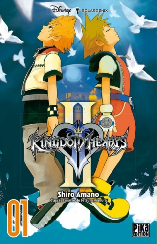 Couverture Kingdom Hearts II, tome 01