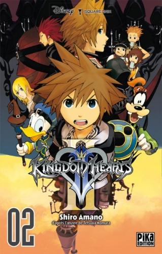 Couverture Kingdom Hearts II, tome 02