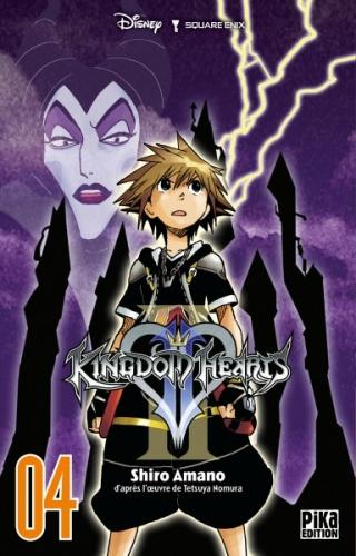 Couverture Kingdom Hearts II, tome 04