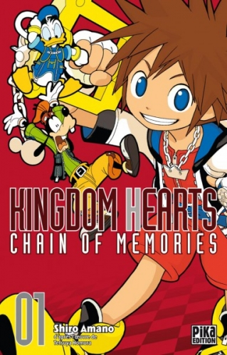 Couverture Kingdom Hearts : Chain of memories, tome 1