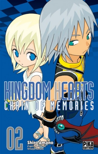 Couverture Kingdom Hearts : Chain of memories, tome 2
