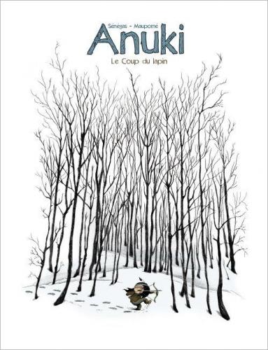 Couverture Anuki, tome 3 : Le coup du lapin