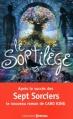 Couverture Les Sept Sorciers, tome 2 :  Le Sortilège de Siméon Noir Editions Prisma 2013