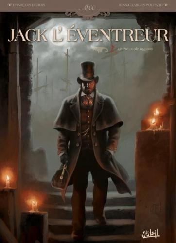 Couverture Jack l'éventreur, tome 2 : Le protocole Hypnos