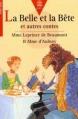 Couverture La Belle et la Bête et autres contes (de Beaumont & Aulnoy) Editions Le Livre de Poche (Jeunesse - Pour tous) 1997