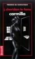 Couverture Carmilla Editions Denoël (Présence du fantastique) 1993