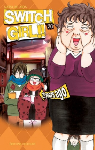 Couverture Switch Girl, tome 20