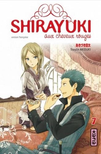 Couverture Shirayuki aux cheveux rouges, tome 07