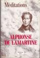 Couverture Méditations poétiques, Nouvelles méditations poétiques Editions JC Lattès (Bibliothèque Lattès) 1987