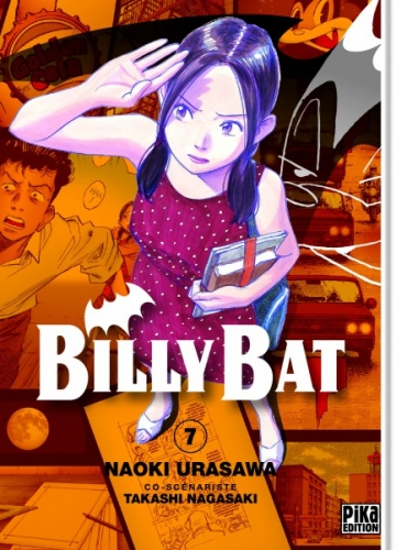 Couverture Billy Bat, tome 07
