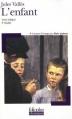 Couverture L'enfant Editions Folio  (Plus classiques) 2003