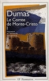 Couverture Le comte de Monte-Cristo (2 tomes), tome 1 Editions Flammarion (GF) 1999