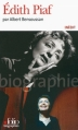 Couverture Edith Piaf Editions Folio  (Biographies) 2013