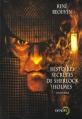 Couverture Histoires secrètes de Sherlock Holmes Editions Denoël (Lunes d'encre) 2002