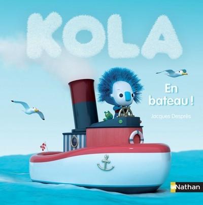 Couverture Kola : En bateau !