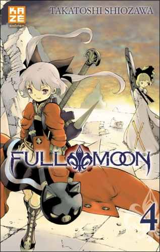 Couverture Full Moon, tome 4