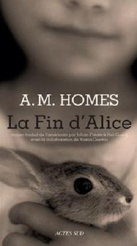 Couverture La fin d'Alice