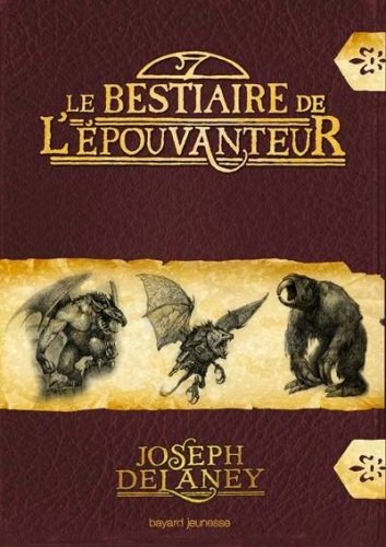Couverture L'Epouvanteur, tome hs 2 : Le Bestiaire de l'épouvanteur