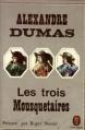 Couverture Les trois mousquetaires Editions Le Livre de Poche (Classique) 1961