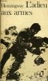 Couverture L'adieu aux armes Editions Folio  1972