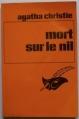 Couverture Mort sur le Nil Editions Librairie des  Champs-Elysées  (Le masque) 1948