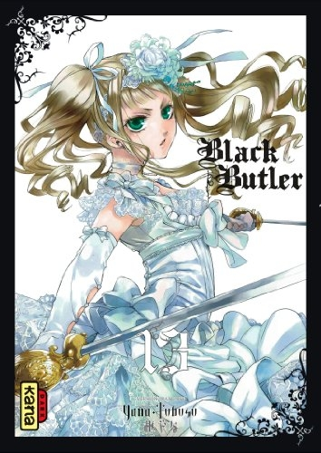 Couverture Black Butler, tome 13