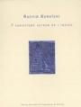 Couverture 7 variations autour de l'indigo Editions Alors Hors du Temps 2003